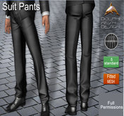 [Dolphin Template]Full permissions Suit Pants