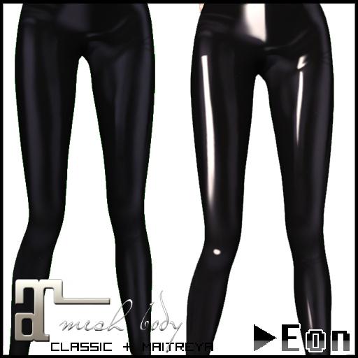 -Eon- Latex Leggings v2 - Classic & Maitreya Appliers