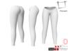 Women's V Cut Side Rolled Back Legs Tight Pants For Maitreya,Slink,Hourglass, Belleza, Tonic
