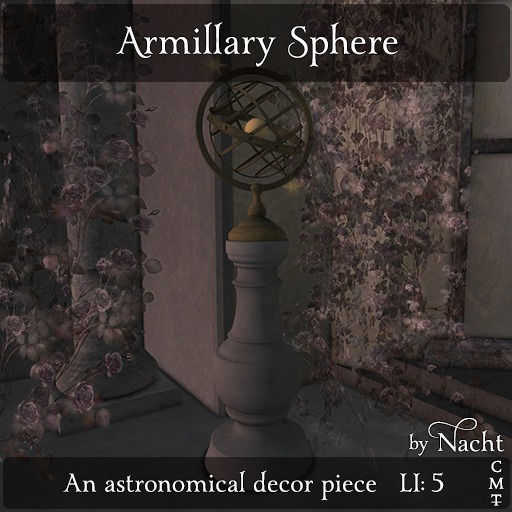*~ by Nacht ~ Armillary Sphere