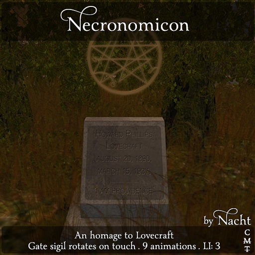 *~ by Nacht ~ Necronomicon
