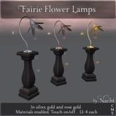 *~ by Nacht ~ Fairie Flower Lamps