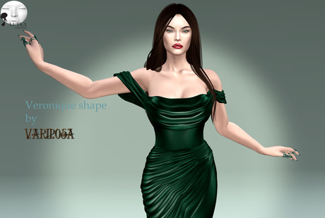 Veronique shape by Variposa [add to unpack]