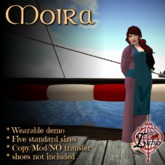 {L} Moira Apron dress (Demo Rose)