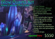 [CC] Glow Quartz Set