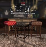 OneDecor_Club Stool Brown