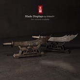 DYNASTY - Blade Display - Rusted Brown