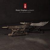 DYNASTY - Blade Display - Stone Grey