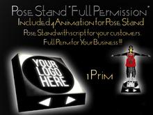 Multi Pose Stand - Full Permission *ONLY 1 PRIM 2019 VERSION*