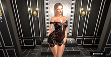 SOULMATE - Madonna Dress RED