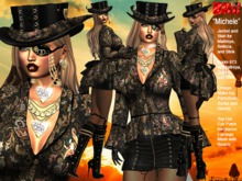 **MICHELE STEAMPUNK STYLE COMPLET OUTFIT **