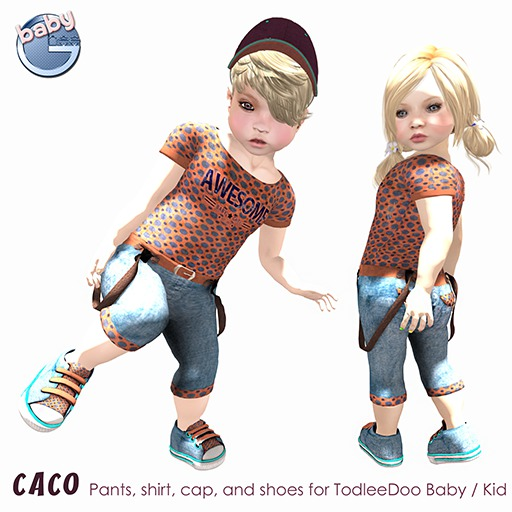 Baby Ghee - Caco Outfit