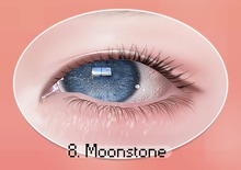chouette :: sparkling eyes / 8 moonstone