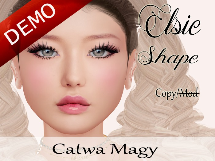 "Elsie Shape ""Catwa Bento Magy Head"" Demo"