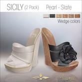 Amacci Shoes - Sicily - Pearl/Slate