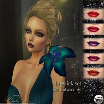 .:FlowerDreams:.Catwa lipstick set 3(DEMO)