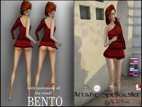 bag Dress Pastel BENTO W/CH *Arcane Spellcaster* Ak-Creations