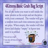 4Kittens Grab Bag Script
