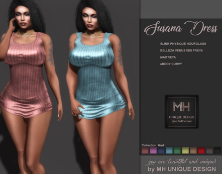 === GIFT===  MH-Susana Dress-Collection