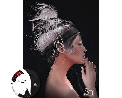 .Shi Hair : Eirene / Unisex . Red