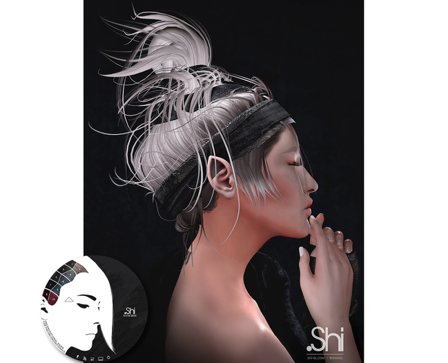 .Shi Hair : Eirene / Unisex . Apocalypse 1