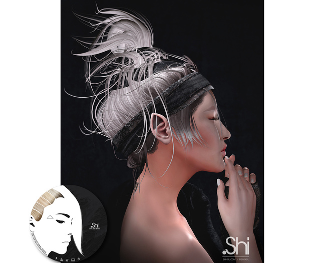 .Shi Hair : Eirene / Unisex . LBlonde