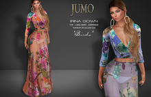 .:JUMO:. Irina Gown Birds - Maitreya Belleza Slink - ADD ME