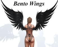 ~PP~ Black Bento Wings