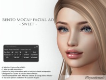 Bento Mocap Facial AO - Sweet - (Version A)