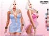 [ LsR ] - Sexy Rose Denim Dress