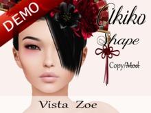 """Akiko Shape """"Vista Zoe Head"""" Demo"""