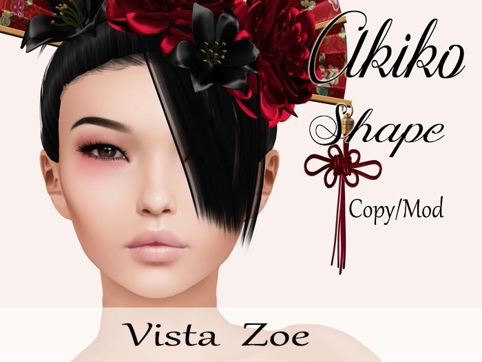 """Akiko Shape """"Vista Zoe Head"""""""