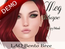 "Meg Shape ""LAQ Bento Bree Head"" Demo"