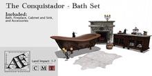 Conquistador Bath Set