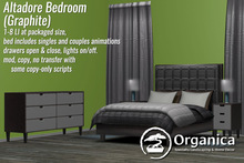 [ Organica ] Altadore Bedroom (Graphite)