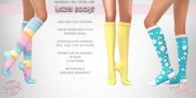 !PCP :: Hazel Socks [FATPACK]