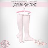 !PCP :: Hazel Socks [White]