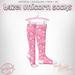 !PCP :: Hazel Socks [Unicorn Pink]