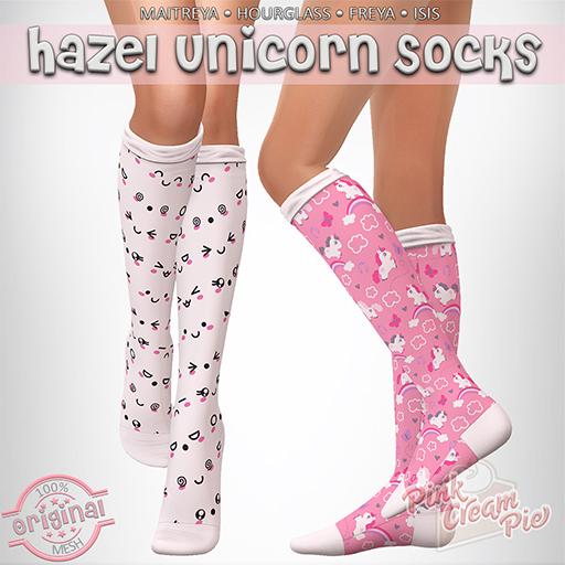 !PCP :: Hazel Socks [Unicorn Pack]