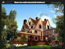 [Dolphin Design] ~Mona Lisa smile house Update2.0 by 2018 (with funitures)