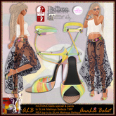 ALB KICHAKA heels Special & outfit & bracelet by AnaLee Balut