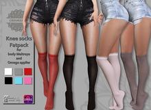 CHAMELEON - Knee socks Fatpack fof body Maitreya and Omega applier