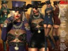 **MICAELA STEAMPUNK STYLE UNIVERSAL HUD 5 TEXTURES OUTFIT **