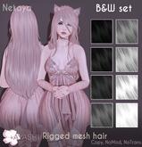 [^.^Ayashi^.^] Nekoya hair-B&W set