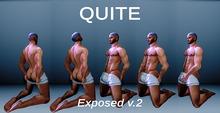 (QUITE) Exposed v.2 on Knees