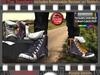 FULL - ZED MESH Purple Denim Hi-Tops (NonRigged/Resizable/Stretchable)+Bonus Sock Tops