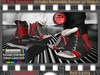 FULL - ZED MESH Red Lycra Hi-Tops (Non-Rigged/Resizable/Stretchable)+Bonus Sock Tops