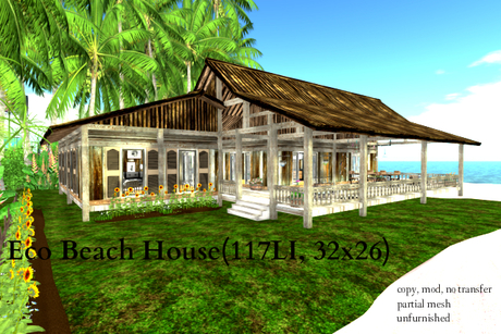 Eco Beach House(117LI, 32x26)