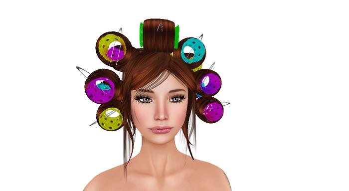 *NJoy* Da curlers amber hair