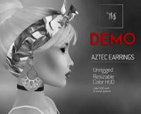 TWS - Aztec Earrings - Demo